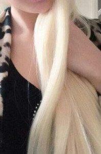 jag blond och sexig